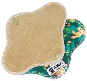 Latte/Animal mom Menstrual pad with PUL