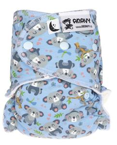 Koala Fitted diaper with snaps