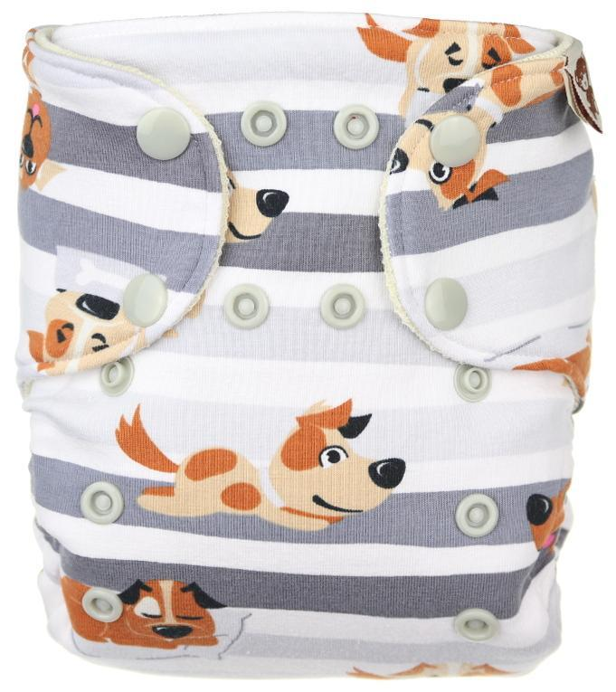 Dogs Wool diaper cover with snaps
