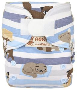 Cats Wool diaper cover with velcro