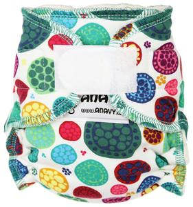 Mandalas Fitted diaper with velcro