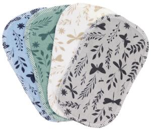 Butterflies (cotton terry) 4 pcs Cloth wipes