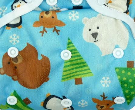 Winter fantasy II. quality PUL diaper cover pull-up