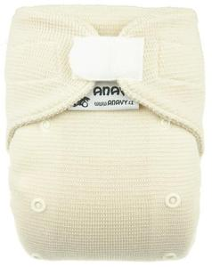 Natural wool II. quality Wool diaper cover with velcro