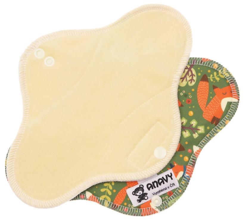 Sand/Foxes Menstrual pad with PUL