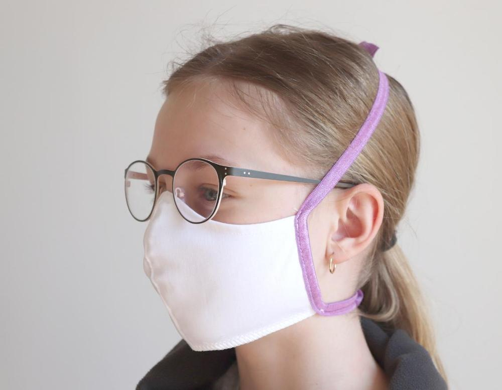 Cotton facemask WHITE