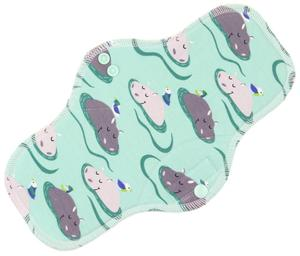 Hippos Menstrual pad with fleece