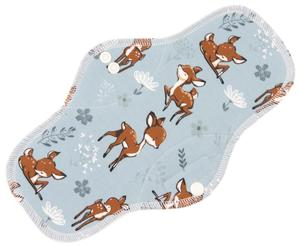 Deer (grey) Menstrual pad with PUL