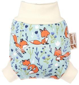Jumping fox Wool diaper cover pull-up