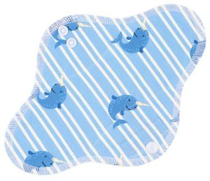Narwhal Menstrual pad with PUL