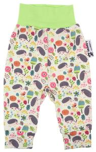 Baby pants Hedgehogs (light green)
