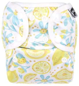 Lemons PUL diaper cover with snaps