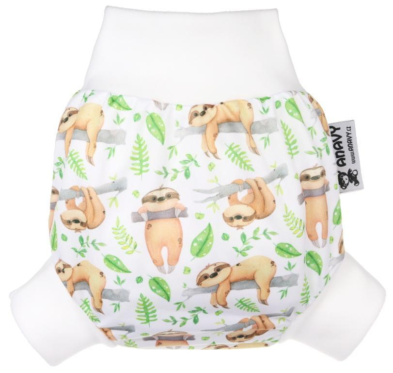 Sloths PUL diaper cover pull-up