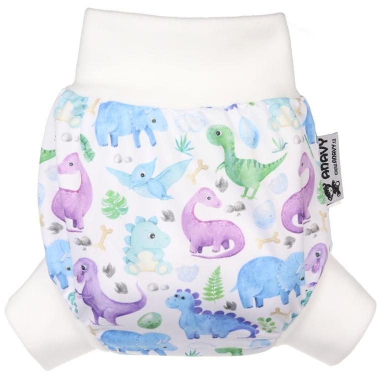 Jurassic PUL diaper cover pull-up