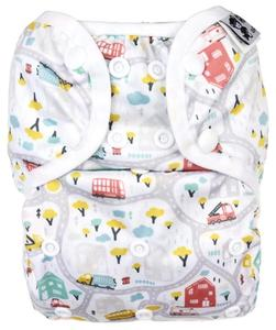 Roads PUL diaper cover with snaps