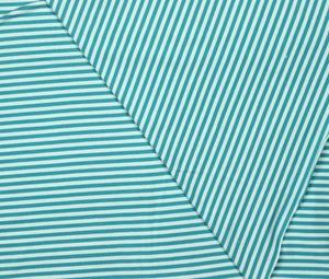 Lillestoff - stripes turquoise/light blue