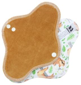 Caramel/Sloths Menstrual pad with PUL