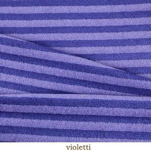Bamboo terry - purple stripes 0,9 m