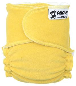 Ochre Fitted diaper snapless
