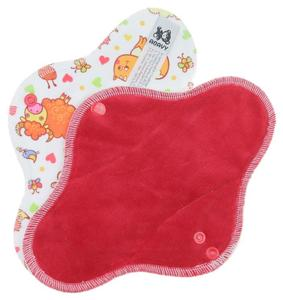 Strawberry/Farm Animals Menstrual pad with PUL