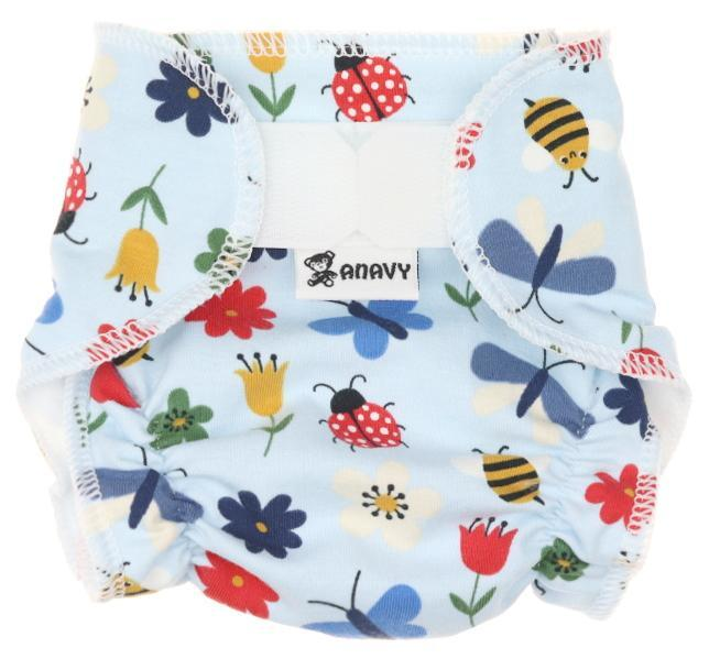Meadow (light blue) Diaper for dolls