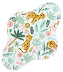 Cheetah Menstrual pad with fleece