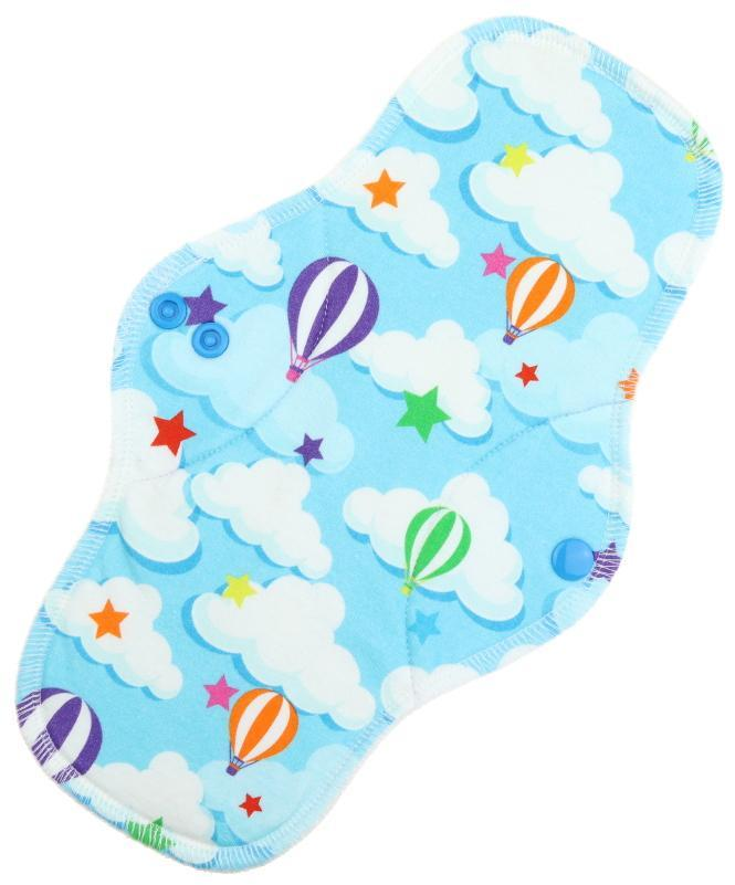 Balloons Menstrual pad with fleece