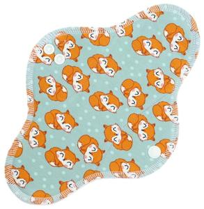 Sleeping foxes Menstrual pad with PUL