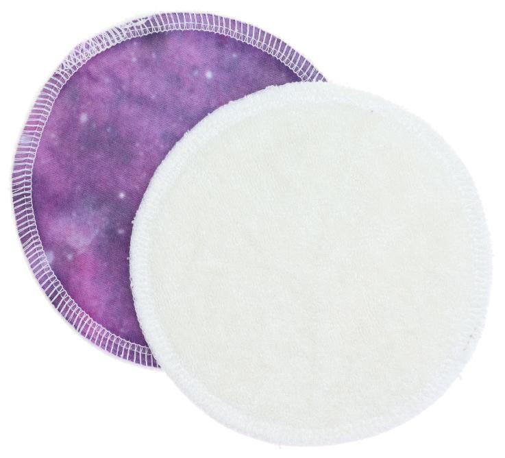 Cream/Galaxy (PUL) Nursing pads