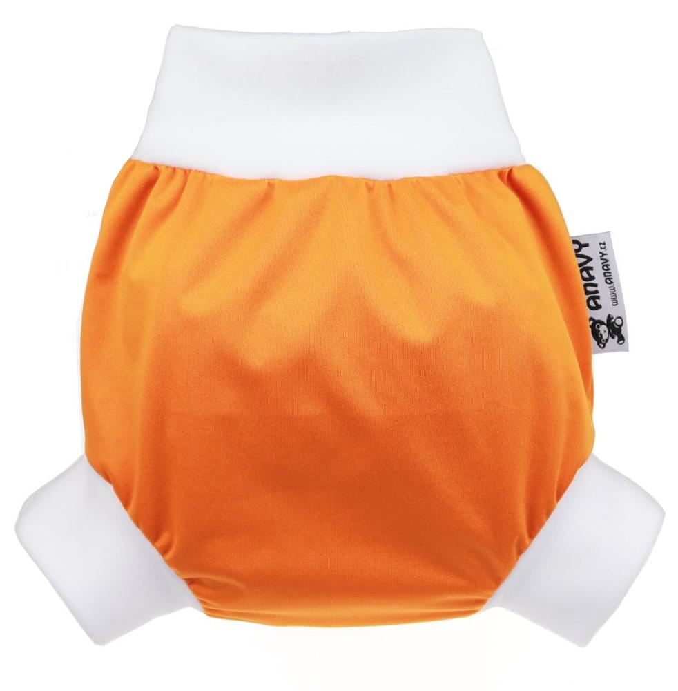Pumpkin PUL diaper cover pull-up