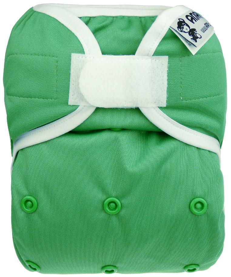Forest PUL diaper cover with velcro