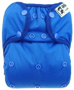 Blueberry PUL diaper cover with snaps