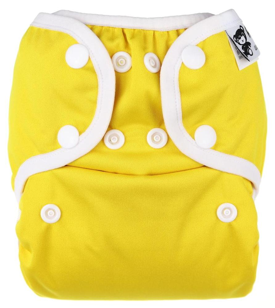 Dandelion PUL diaper cover with snaps