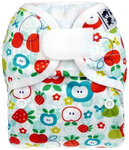 Apples PUL diaper cover with velcro