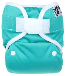 Jade PUL diaper cover with velcro