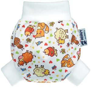 Farm animals PUL diaper cover pull-up