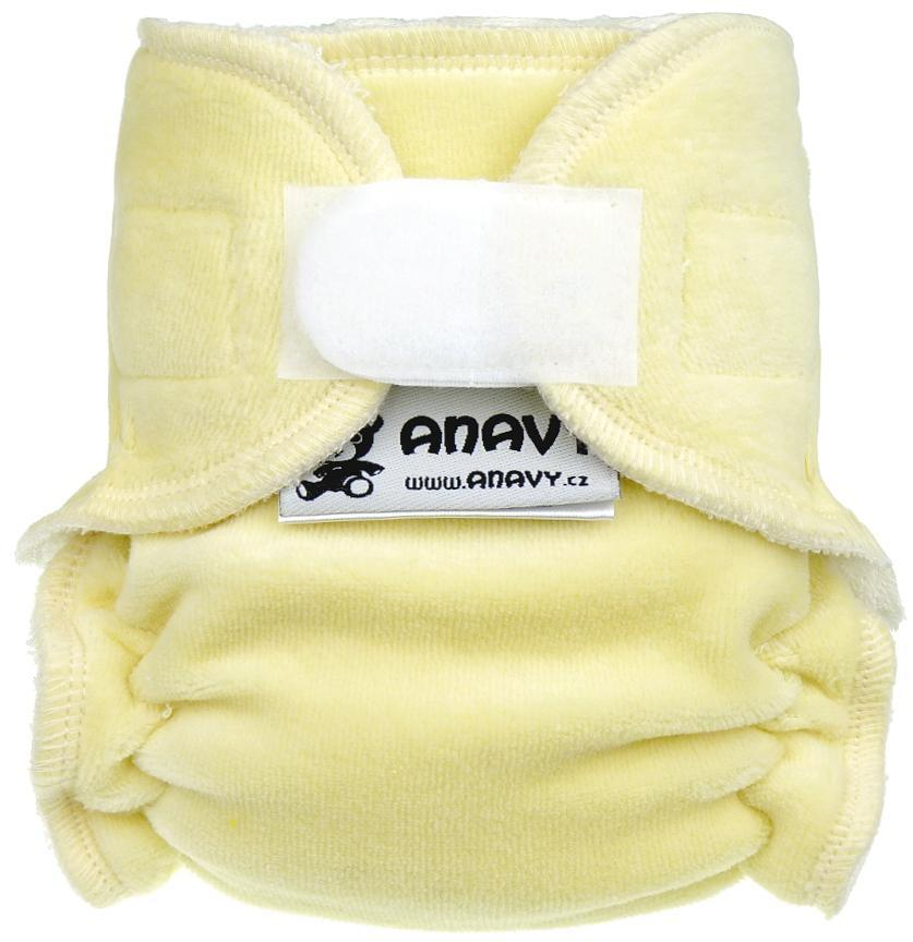 Sand Fitted diaper with velcro