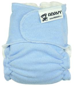 Light blue Fitted diaper snapless