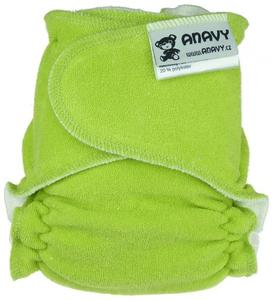 Light green Fitted diaper snapless