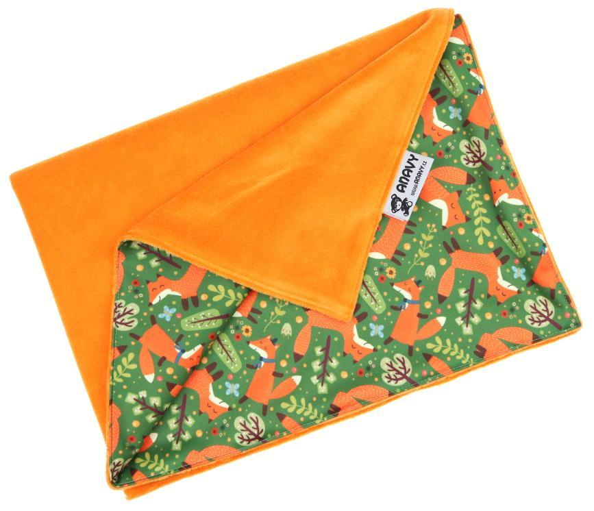 Carrot/Foxes Changing mat
