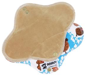 Latte/Mammoths Menstrual pad with PUL