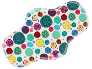 Mandalas Menstrual pad with fleece