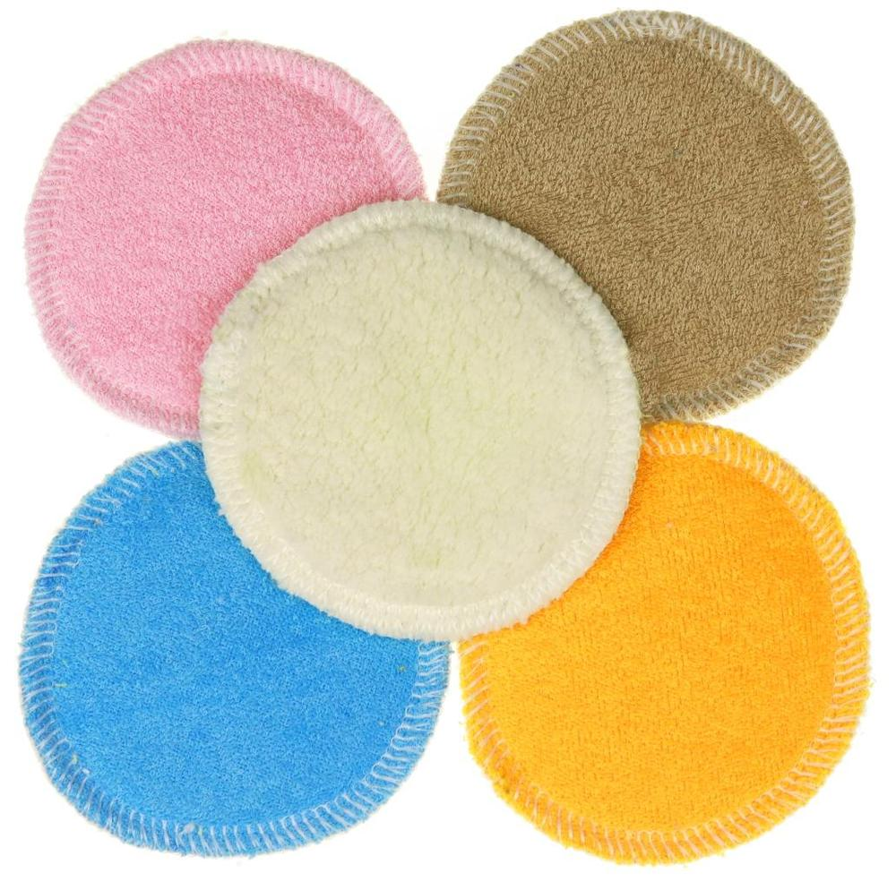 5 pcs in wash net Make-up remover pads