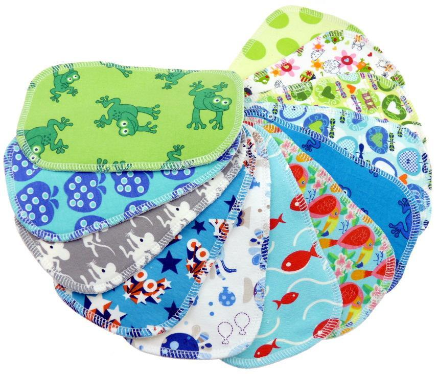 Cotton 4 pcs Cloth wipes