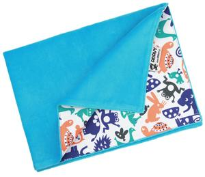 Turquoise/Animals (orange-blue) Changing mat
