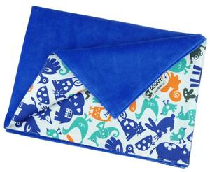 Blueberry/Animals (orange-blue) Changing mat