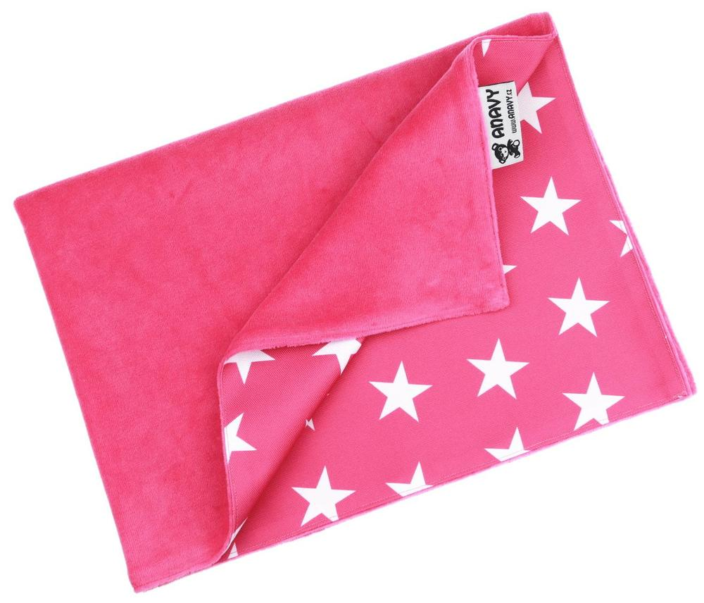 Sugar/Stars (pink) Changing mat