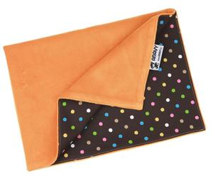 Carrot/Colored dots Changing mat