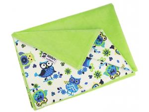 Grass/Owls (blue) Changing mat